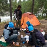 Трёхместные палатки